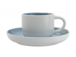 Maxwell & Williams Tint Demi Cup & Saucer 100ml Cloud