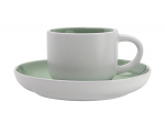 Maxwell & Williams Tint Demi Cup & Saucer 100ml Mint
