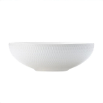 Maxwell & Williams White Basics Diamonds Coupe Bowl 18.5cm