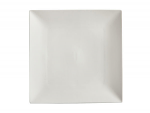 White Basics Linear Square Plate 15cm