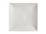 White Basics Linear Square Plate 18cm