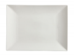 White Basics Linear Rectangular Platter 36cm x 25cm Boxed