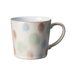 Denby Multi Spot Painted Large Mug