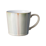 Denby Multi Stripe Painted Large Mug