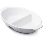 W M Bartleet & Sons Divided Serving Dish Small Oval 22cm