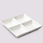 W M Bartleet & Sons Divided Serving Dish Square 24.7cm