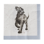 Wrendale Designs - Napkins - Luncheon - Walkies (Dogs)