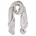 Wrendale Designs Scarf - A Dog's Life Scarf