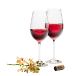 Galway Crystal Elegance Red Wine Set of 2