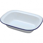 Falcon Enamel Oblong Pie Dish 18cm (44018)