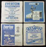 Everton Football Club Vintage Coasters