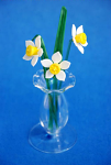 Suffolk Glass Narcissus - Small Coloured