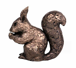 Frith Sculpture - Red Squirrel Eating a Nut