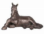 Frith Sculpture - Jingo - Lying Foal Bronze