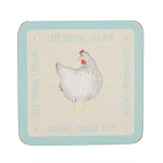 Feather Lane - Creative Tops  6 Premium Coasters