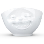 FiftyEight Products Bowl 1000ml White - Laughing