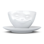 FiftyEight Products Coffee Cup 200ml White - Grinning