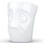 FiftyEight Products Mug with handle 350ml White - Baffled