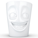 FiftyEight Products Mug with handle 350ml White - Joking