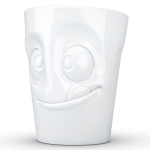 FiftyEight Products Mug with handle 350ml White - Tasty