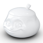 FiftyEight Products Sugar Bowl 400ml White - Sweet