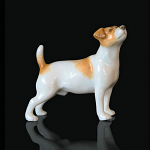 Fine Bone China Jack Russell Miniature by Keith Sherwin