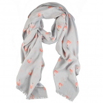 Wrendale Designs Scarf - Pink Ladies Flamingo Scarf