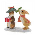 Beatrix Potter - Flopsy and Benjamin Bunny Under the Misteltoe