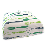Food Cover Thermal - Large Cutlery Design 36cm x 36cm