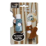 Zeal Bread Bag Clips Mouse & Squirrel