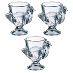 Luminarc Hen Egg Cups - Set of 3