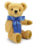 Merrythought London Gold Curly 16 inch Teddy Bear with Growl