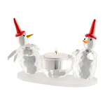 Galway Living Two Snowman Votive