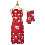 Cooksmart Christmas Bah Humpug Apron & Gauntlet Set