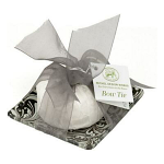 Michel Design Works - Honey Almond Soap & Glass Dish Bow Tie Gift Set