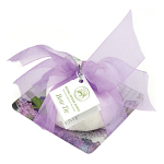 Michel Design Works - Lilacs and Violets Soap & Glass Dish Bow Tie Gift Set