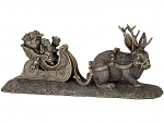 Genesis Fine Arts - Christmas in the Forest Bronze