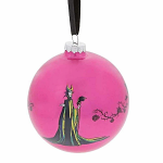 Glass Bauble - Disney Maleficent - A Forest of Thorns
