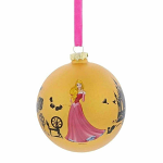 Glass Bauble - Disney Sleeping Beauty - Once Upon A Dream