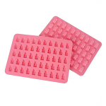 Eddingtons Gummy Bear Silicone Tray Moulds with Dropper Set of 2