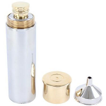 Hip Flask Gun Cartridge Design with Funnel Gift Boxed