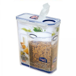 Lock & Lock 4.3 Litre With Flip Top Lid - Cereal & Pasta Container