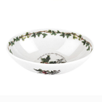 Portmeirion Holly & Ivy Oval Nesting Bowl 8 Inch