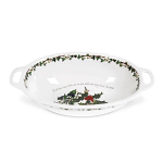 Portmeirion Holly & Ivy Oval Handled Bowl 15 inch