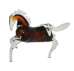 Svaja Paperweight Henry Horse Brown