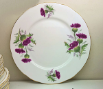 Duchess China Highland Beauty Thistle Dessert / Salad Plate 21cm