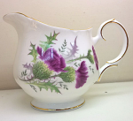 Duchess China Highland Beauty Thistle Cream Jug (Tea) Large Size