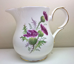 Duchess China Highland Beauty Thistle Milk Jug