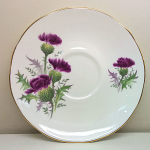 Duchess China Highland Beauty Thistle Breakfast Saucer 15cm