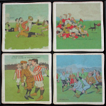 Rugby Humour Vintage Coasters